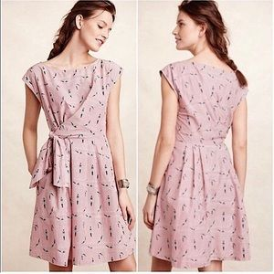 Maeve for Anthropologie Bathing Beauty Dress Small